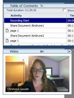Webex meeting screen shot