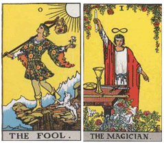 The Fool and Magician