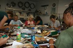Tarot Circle members